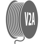 Stainless steel V2A Wire