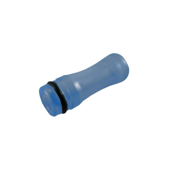DripTip 510 Acryl blau/transparent