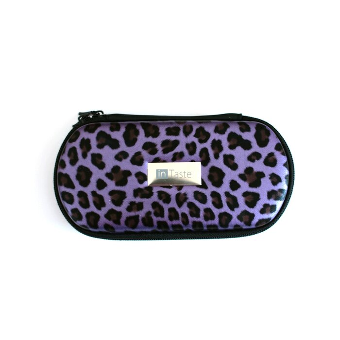 InTaste Pouch groß Leopard-lila