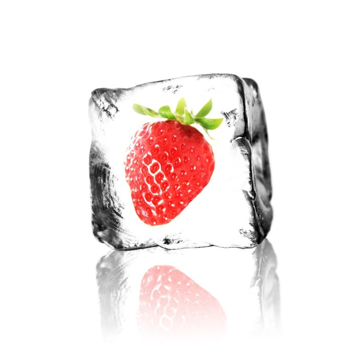 eLiquid Strawberry-Menthol ohne Nikotin 10ml