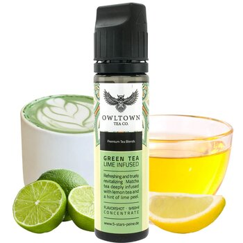 Green Tea Lime Infused