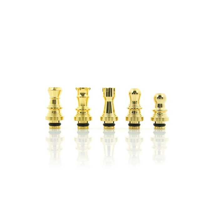 Chessmaster Drip Tips - Gold Edition