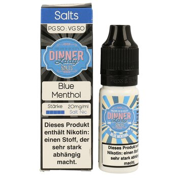 Blue Menthol - NicSalt 20 mg/ml