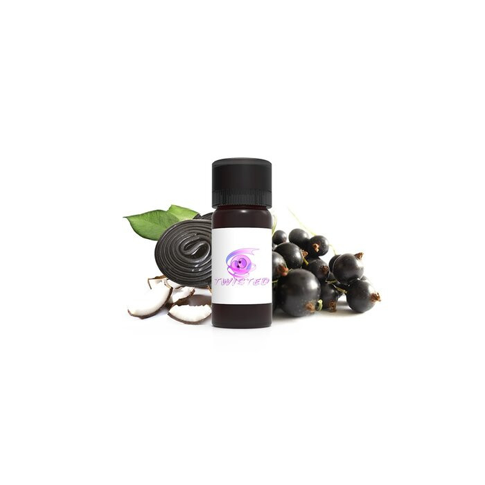 100 ml Twisted Flavors Aroma Black Lipstick