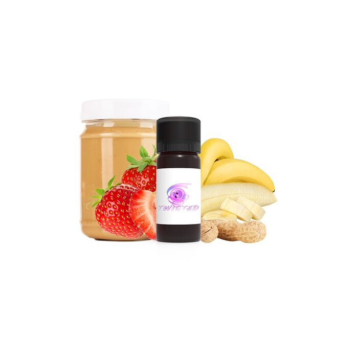 100ml Twisted Flavors Aroma Creamy Monkey