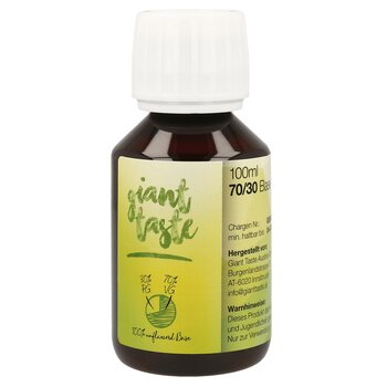 Giant Taste Base - 100 ml - 70/30 - 0 mg
