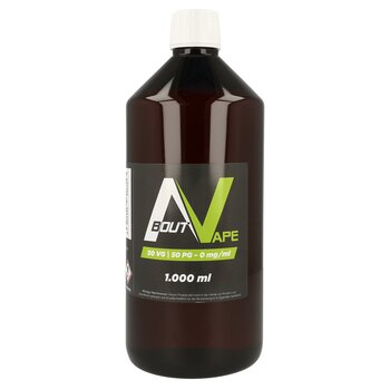 About Vape Base - 1000 ml - 0 mg