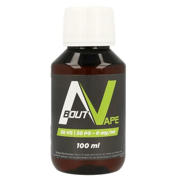 About Vape Base - 100 ml - 0 mg