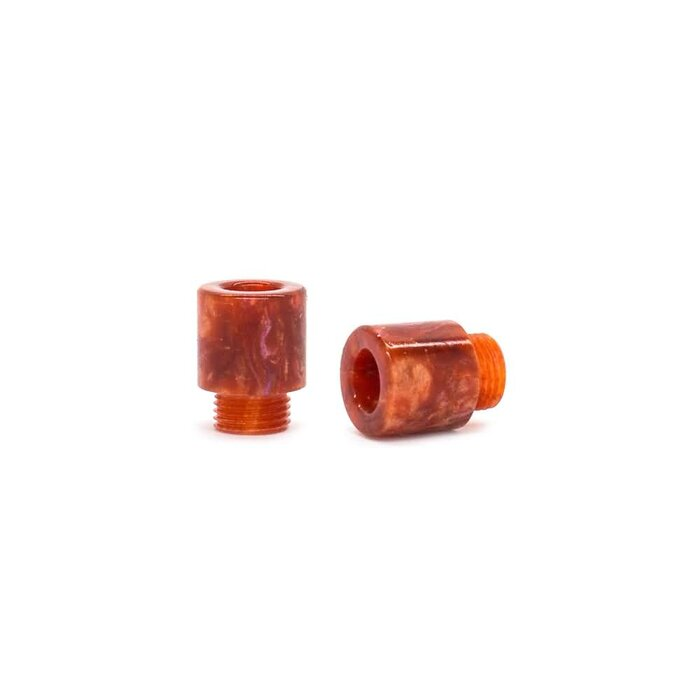 Vapor Giant Delrin DripTip - Resin Cap M Red