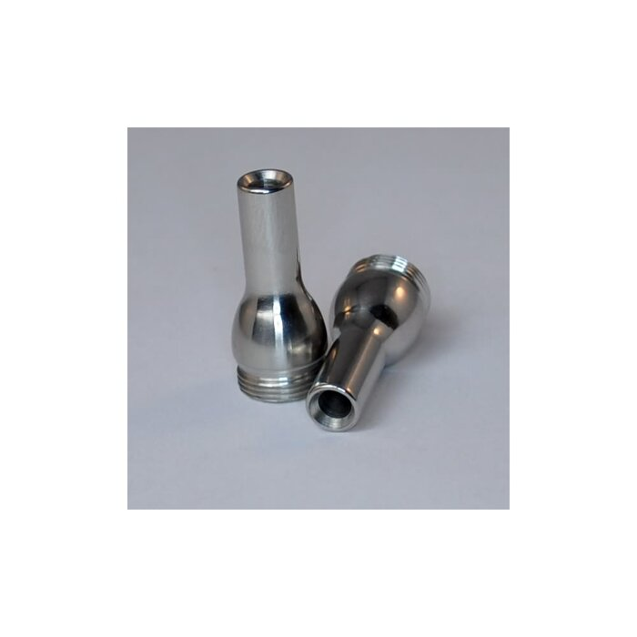 Mouthpiece Stainless Steel polished 7 mm